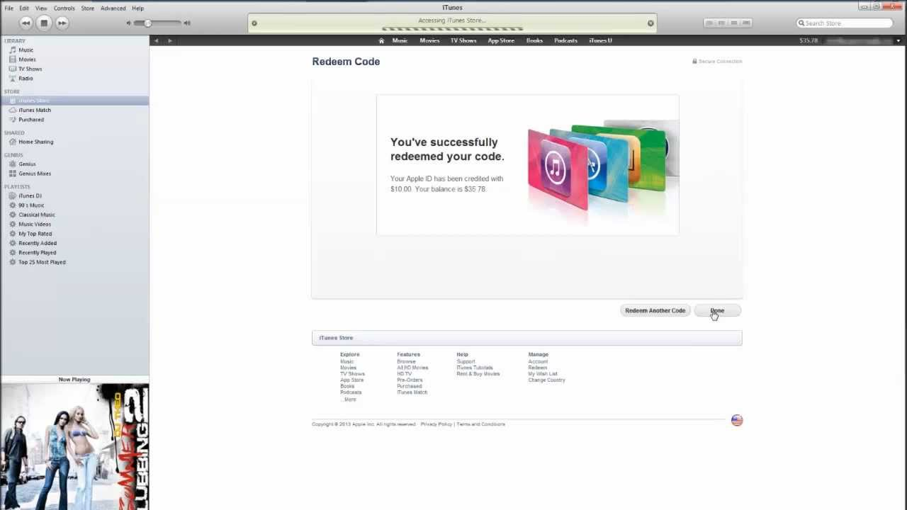 How to Redeem iTunes Gift Card - YouTube