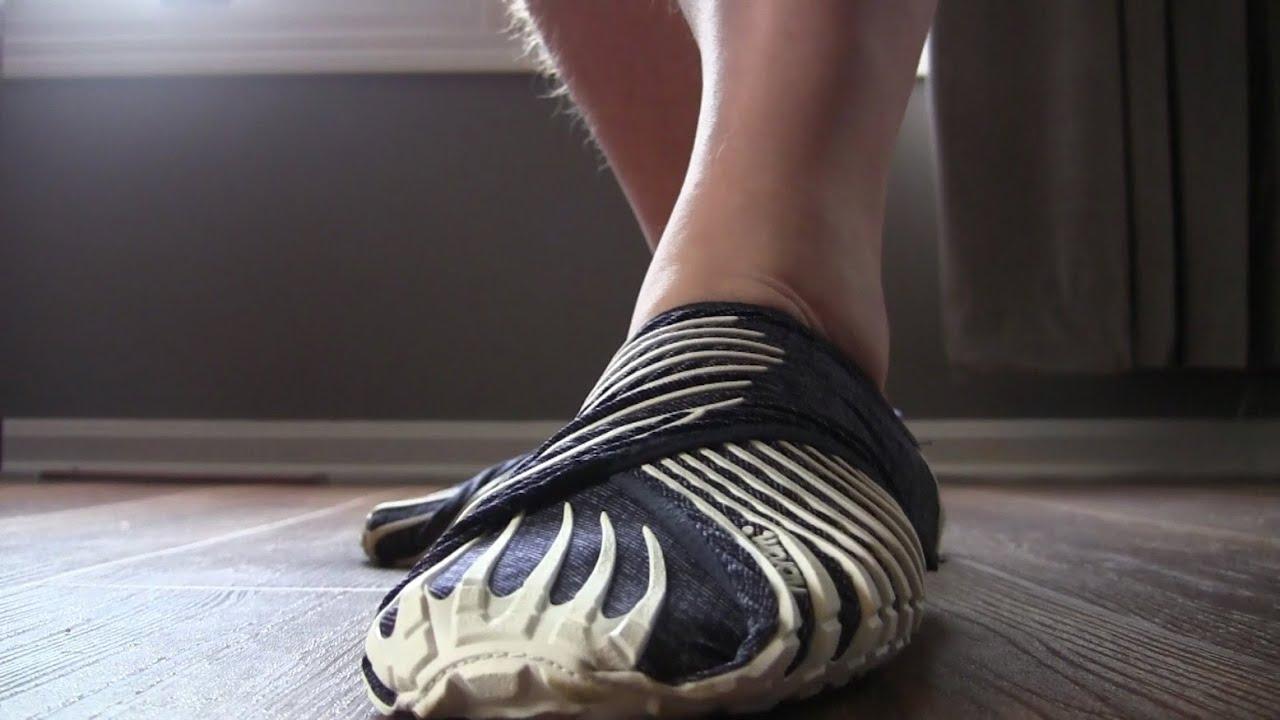 ff5ff60c8e Vibram Furoshiki Wrap Shoes Review - YouTube