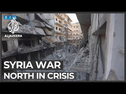 Syria military offensive drives humanitarian crisis in north