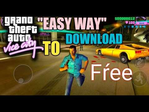 Very Very Easy Way To Download Gta Vice City.....