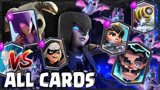 Night Witch VS All Cards (Clash Royale)