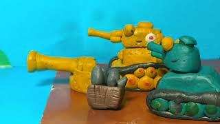 Танкомульт - Вторая мировая война, все серии подряд - Мультики про танки