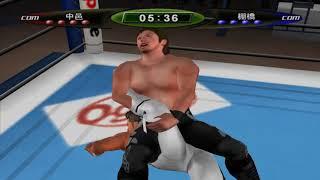 PCSX2 1.4.0 - King of Colosseum II, Tanahashi vs. Nakamura (emulator test)