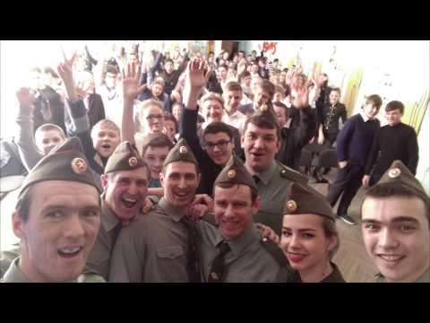 Месячник военно патриотического воспитания в Шолоховском районе
