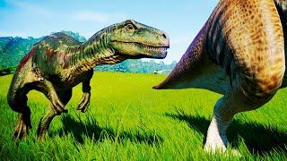 herrerasaurus animao caa skins e mais jurassic world evolution carnivore pack ptbr