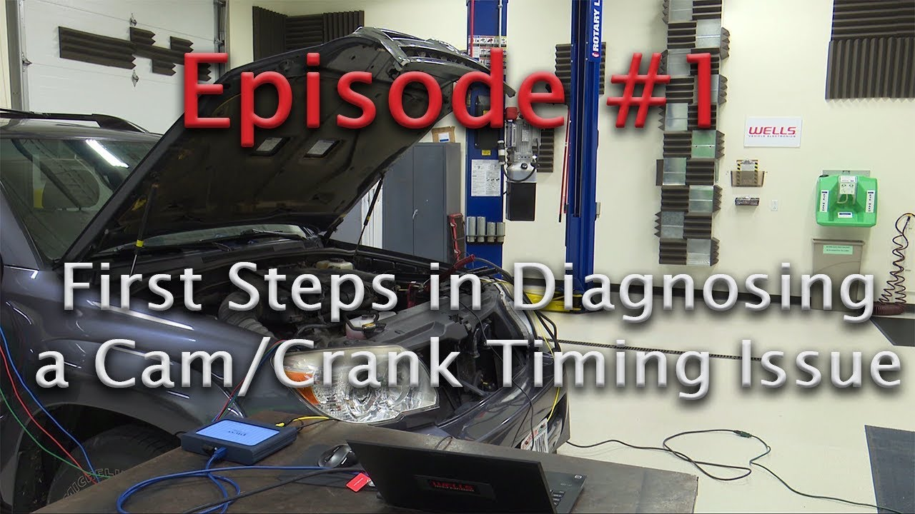 Episode 1 CamCrank Timing Code P0016 Case Study  What is a P0016?  YouTube