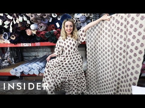 How This LA Designer Makes Dresses From Recycled Fabric