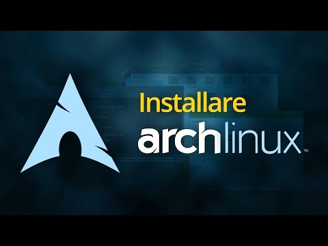 Installare Arch Linux