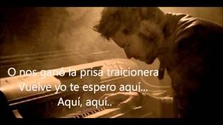 Pablo López - Te espero aquí (Con letra)