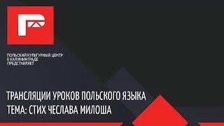 Урок польского языка (стих Чеслава Милоша)