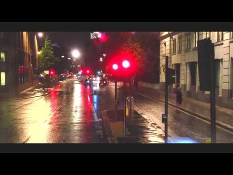 London doubledecker  night street view