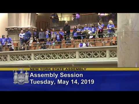 Kendall Junior Senior High School Students Introduced on Behalf of Assemblyman Steve Hawley