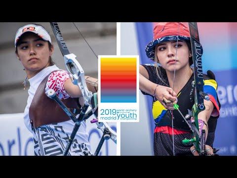 Ana P. Vazquez V Valentina A. Giraldo – Recurve Junior Women Gold | World Youth Championships 2019