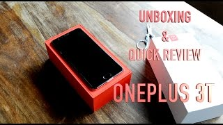 Oneplus 3T(Gunmetal Grey color) Review, Unboxing, Build, Design, Camera features and build quality