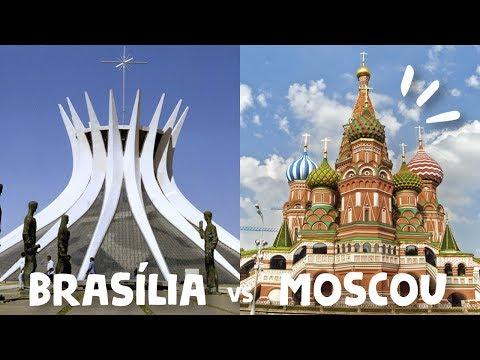 6 meses de Rússia: Comparando Brasília com Moscou | Thalita Campedelli