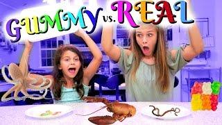 gummy vs. real