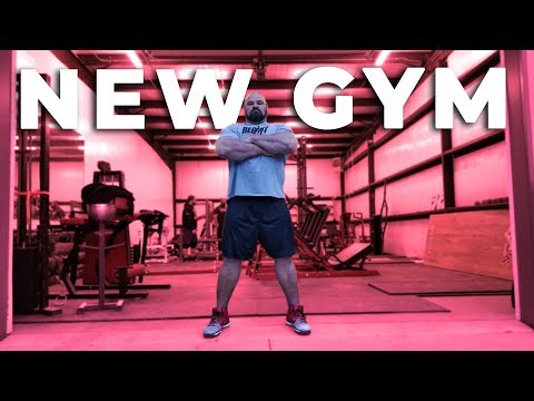 MOVING THE ENTIRE GYM!!