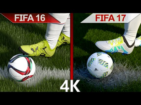 4K Comparison | FIFA 16 vs. FIFA 17 | Ignite vs. Frostbite Engine Graphics | PC