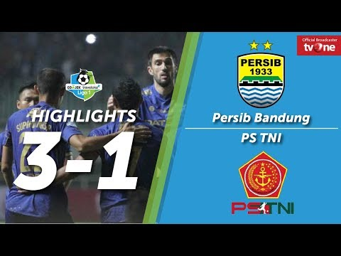 Persib Bandung Vs PS TNI: 3-1 All Goals & Highlights