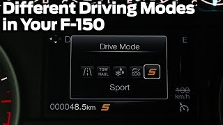 What Different Driving Modes Do In Your F-150