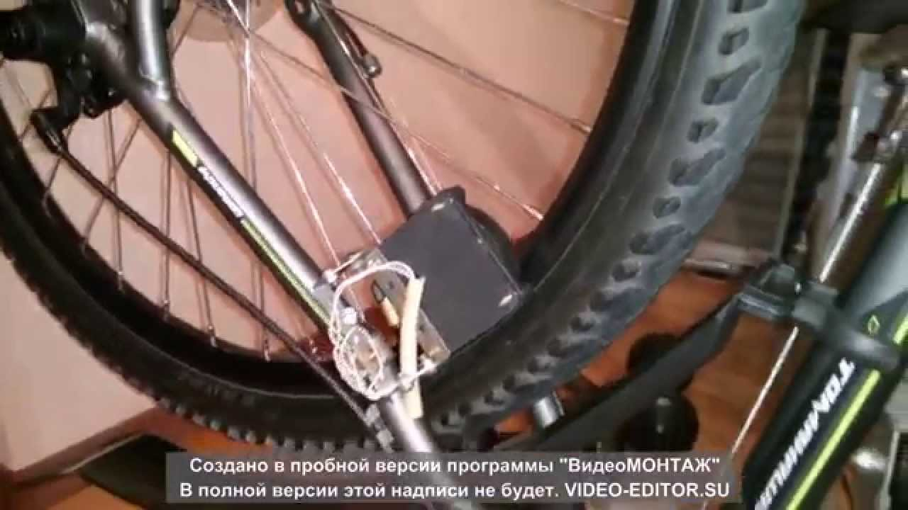 Бесконтактный велогенератор своими руками