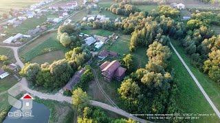 Аэросъемка села Большой Менгер (Атнинский район, Татарстан)