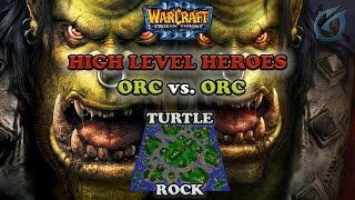 Grubby | Warcraft 3 The Frozen Throne | Orc vs. Orc - High Hero Levels