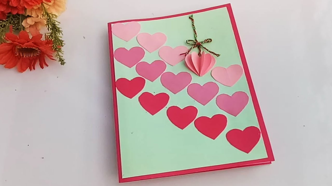 How To Make Birthday Gift Card DIY Greeting Cards For Boyfriend