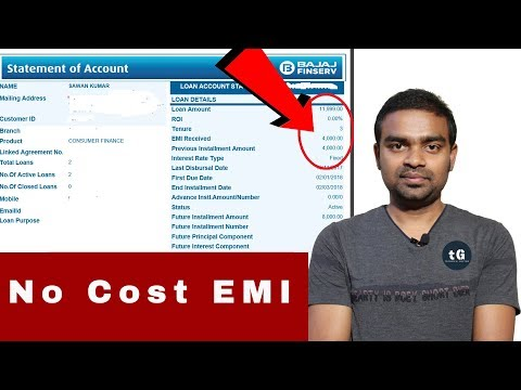 How To Buy A Mobile  From Flipkart With Bajaj Finserv EMI Card - No Cost EMI