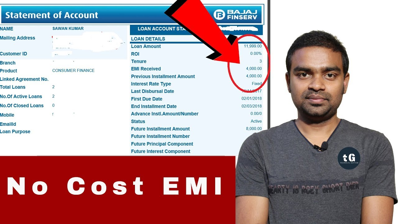 How to Buy a Mobile from Flipkart with Bajaj Finserv EMI Card - No Cost EMI - YouTube
