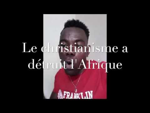 Togo: Antichrist; le christianisme a détruit l'Afrique