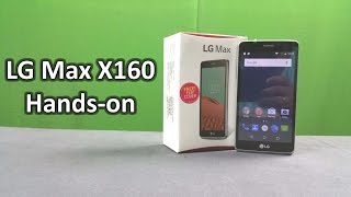 LG Max X160 Unboxing & Full Hands on Review