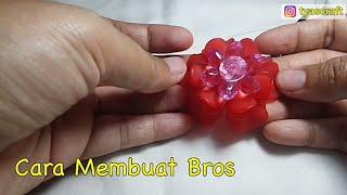 Cara Membuat Bros dari Akrilik Bead