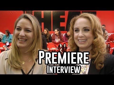 Jamie Denbo and Jessica Chaffin  The Heat Premiere