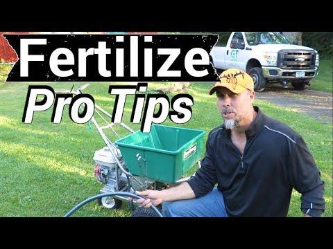 Lawn Fertilizer Like Pro
