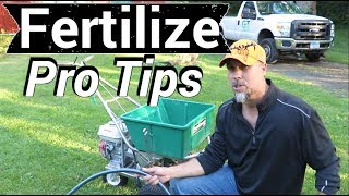 Lawn Fertilizer like a Pro - Seriously- Real Pro-Tips for DIY lawn care business