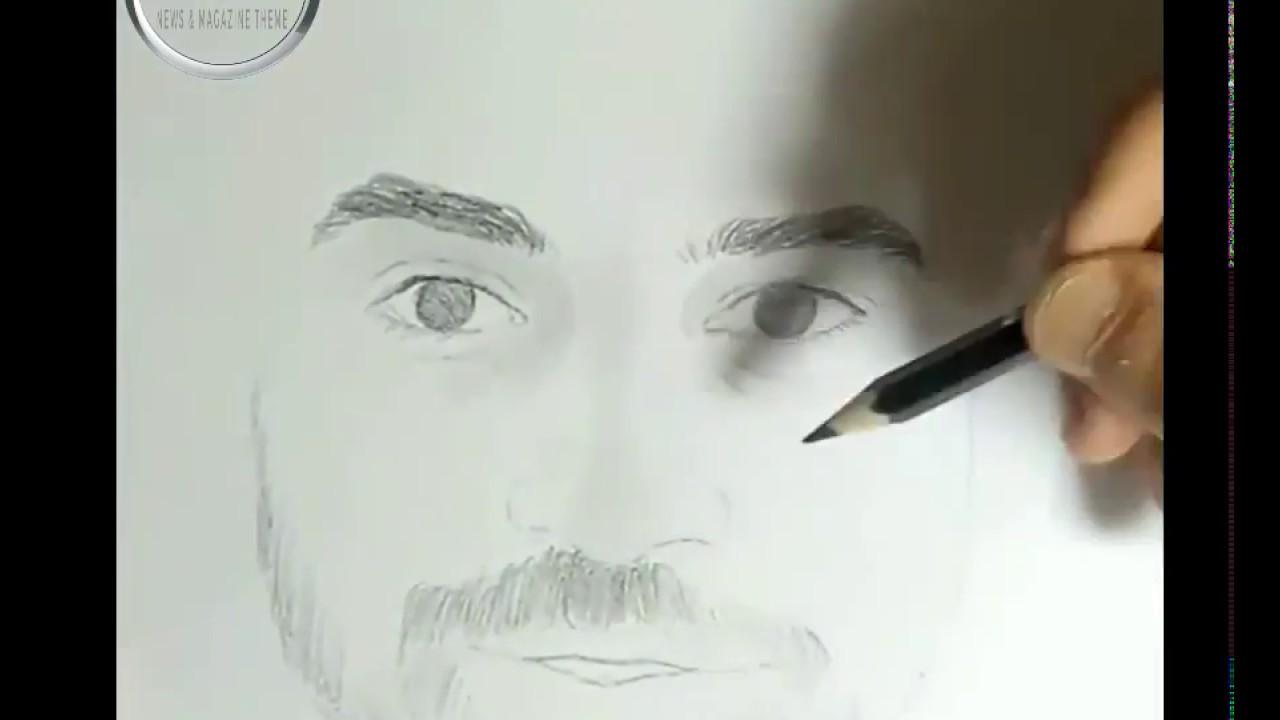 شاهد حب الناس لمحمد صلاح كيفية رسم محمد صلاح خطوة بخطوة Youtube