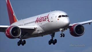 2nd Avianca Boeing 787 Dreamliner Full Test Flight Takeoff & Landing