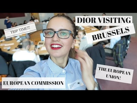 VLOG: Visit to the EU Institutions in Brussels + Meet My Coursemates