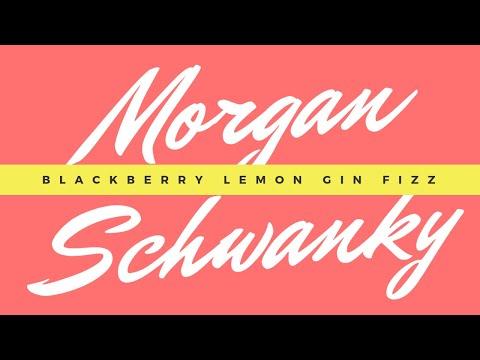 Welcome & Cheers: Blackberry Lemon Gin Fizz!