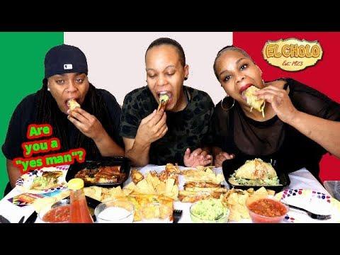 Huge Mexican Food Mukbang (Tacos, Taquitos, Tamale, Burrito and more!)