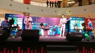 #07 SPANDA Concert at V.R.Chennai Mall | Sarvesh Karthick