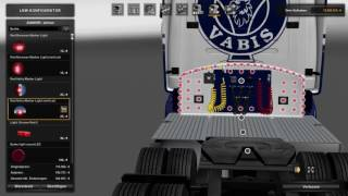 (Ets2 1.26.6)Scania Rjl BKC Tuning addons