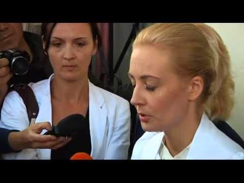 Russian opposition leader Alexei Navalny jailed
