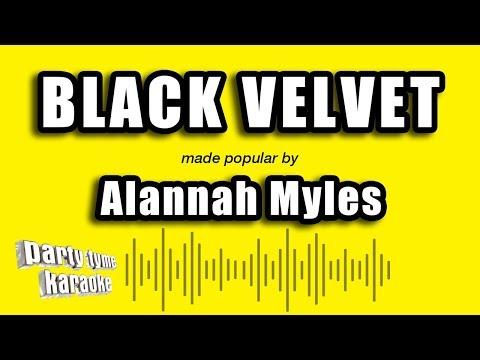 Alannah Myles - Black Velvet (Karaoke Version)