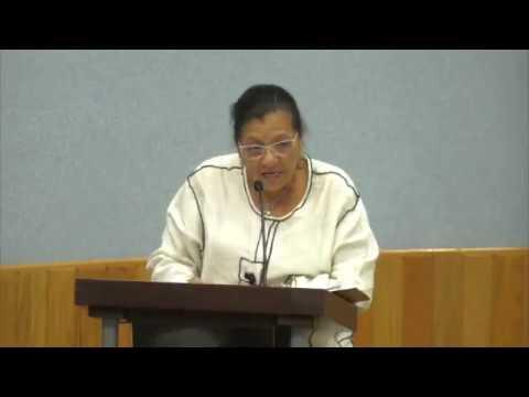 Discurso de la Presidenta de la #CDHDF, Nashieli Ramírez Hernández, en Disculpa Pública