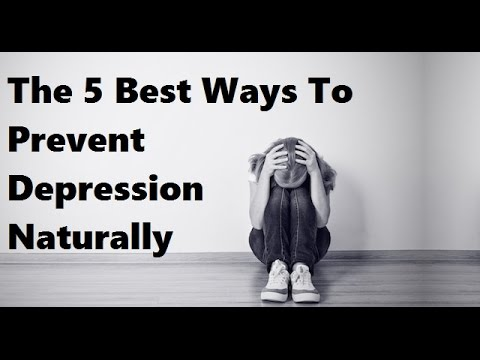 The 5 Best Ways To Prevent Depression Naturally