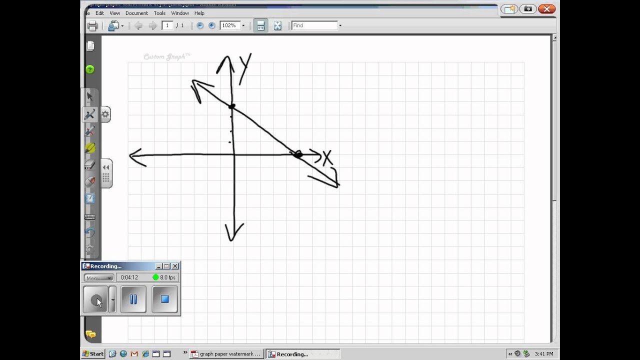 Math 2 1e Graph An Equation By Finding X And Y