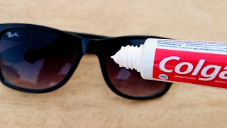 Awesome Life Hacks for Fast Track Sunglasses Toothpaste UNEXPECTED Easy DIY  Simple Tricks Hacks