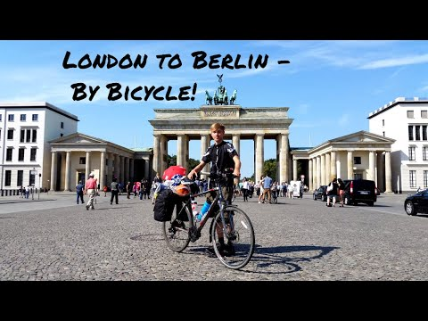 London to Berlin / Poznan - By Bicycle - 1488 mile tour into Eastern Europe  - [1080p]